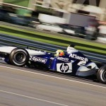 Ralf Schumacher driving for the WilliamsF1 team at the 2003 United States Grand Prix