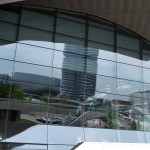Reflection of BMW Museum & Headquarters